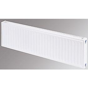 Flomasta Type 11 Single Panel Single Convector Radiator White 300 x 1600mm