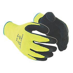 General Handling Outdoor Thermal Grip Gloves Yellow X Large