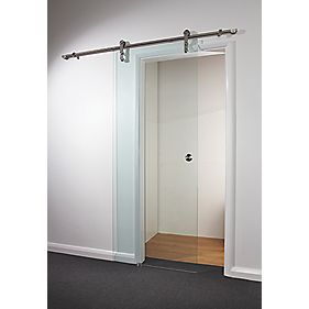 Spaceslide Sliding Door Kit Clear Glass 840 x 2080mm