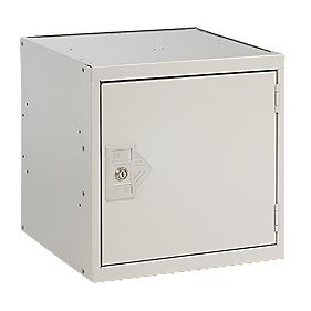 Security Cube Locker 450mm Grey