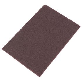 Norton Oakey Non-Woven Hand Sanding Pads Very Fine 150 x 230mm Pack of 10