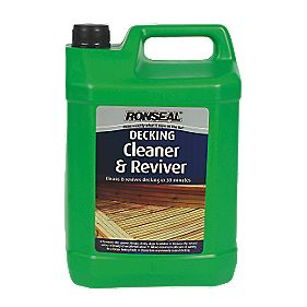 Ronseal Decking Cleaner Clear 5Ltr