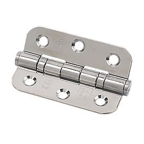 Eclipse Grade 7 Radius Ball Bearing Hinge Pol. Steel 76 x 51mm Pk2