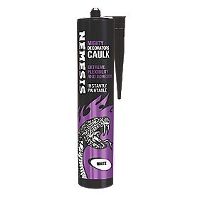 nemesis mighty decorators caulk white 310ml decorators. Black Bedroom Furniture Sets. Home Design Ideas