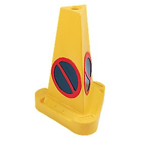JSP No Waiting Cones 530mm Pack of 3