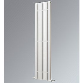 Oceanus Deluxe Vertical Designer Radiator White 1800 x 445mm 3081BTU