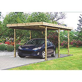 Single Carport 2.7 x 5 x 2.2m