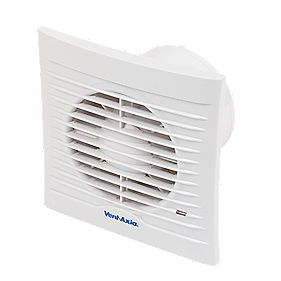 Vent-Axia 100 13W Silhouette Axial Bathroom Fan
