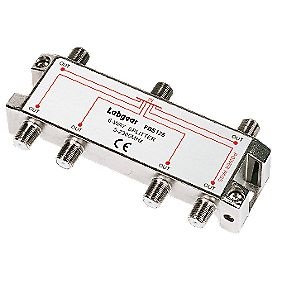Labgear Professional Splitter 6-Way