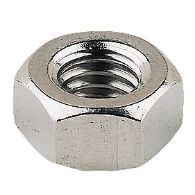 Hex Nuts A4 Stainless Steel M10 Pack of 100