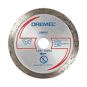 Dremel DSM540 Saw-Max Diamond Tile Cutting Disc 55 x 5mm