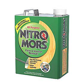 Nitromors All-Purpose Paint & Varnish Remover 4Ltr