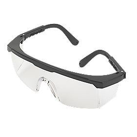 JSP Martcare Clear Lens Wraparound Safety Specs