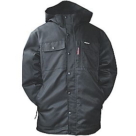 CAT C1313056 Insulated Twill Jacket Black M