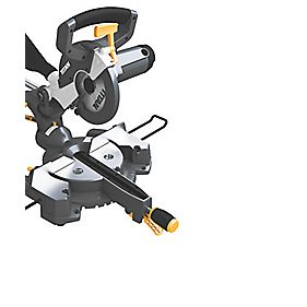 Titan TTB236MSW 210mm Single Bevel Sliding Mitre Saw 230V