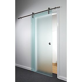 Sliding Door Kit Opaque Glass 840 x 2080mm