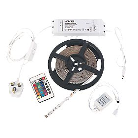 LED RGB Flex Kit w/ Li-Ion Remote 30W 5m RGB 12V