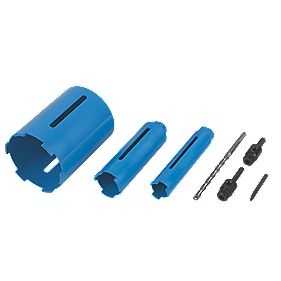 Norton Diamond Core Drill Kit 7 Pieces