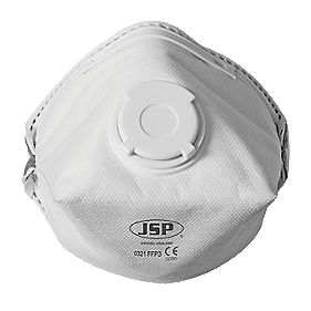 JSP Disposable P3 Valved Dust Mask