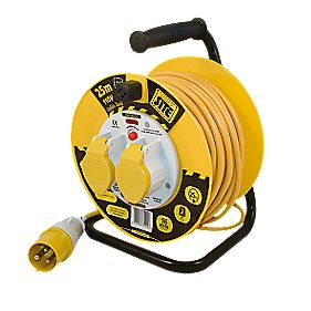 Masterplug Cable Reel 110V 25m