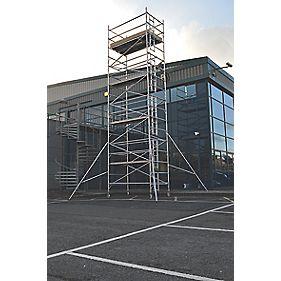 Lyte SF25DW77 Helix Double Width Industrial Tower 7.7m