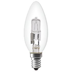 Sylvania Halogen Halogen Eco Candle Lamp SES 210Lm 18W
