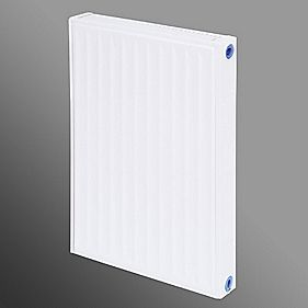 Flomasta Type 11 Single Panel Single Convector Radiator White 600 x 400mm