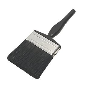 No Nonsense Bristle Paintbrush 4""