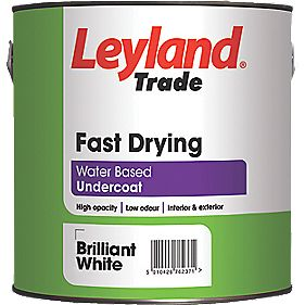 Leyland Trade Fast Drying Undercoat White 2.5Ltr