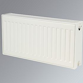 Kudox Premium Type 22 Double Panel Double Convector Radiator White 300x600