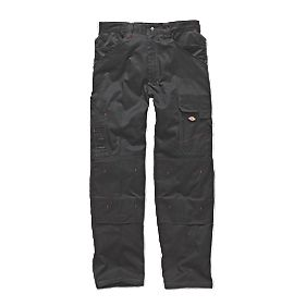 "Dickies Redhawk Pro Trousers Black 40"" W 32"" L"