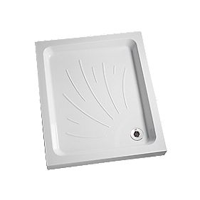 Mira Flight Rectangular Shower Tray 1200 x 760 x 90mm