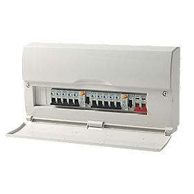 British General 13-Way Dual RCD High Integrity Consumer Unit + 10 MCBs