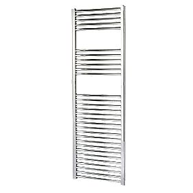 Kudox Flat Towel Radiator Chrome 500 x 1500mm 464W 1583Btu