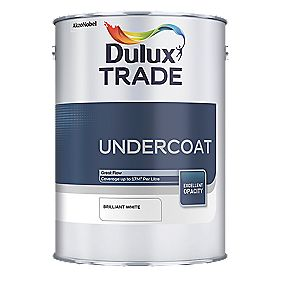 Dulux Trade Trade Undercoat Brilliant White 1Ltr