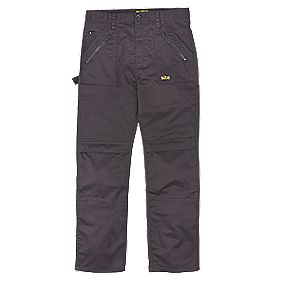 "Site Beagle Trousers Black 32"" W 32"" L"