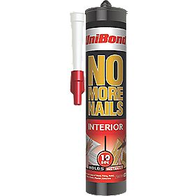 Unibond No More Nails Interior Cartridge Off White 300ml