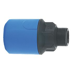 JG Speedfit UG101B MDPE Male Adaptor 20mm x ½""