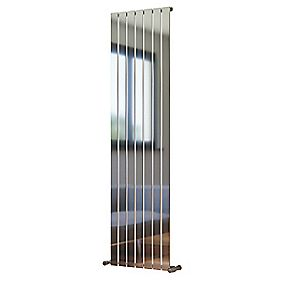 Oceanus Vertical Designer Radiator Chrome 1800 x 480mm 3183BTU