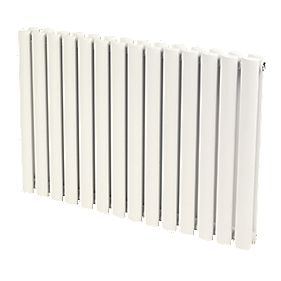 Reina Neva Double Panel Designer Radiator White 550 x 826mm 4710BTU