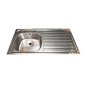 Franke Inset Kitchen Sink Stainless Steel 1 Bowl & 1015 x 505mm
