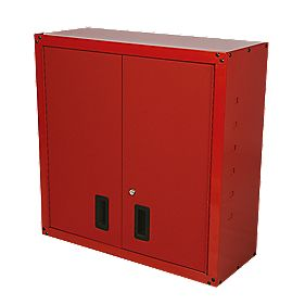 Garage Wall Unit Red
