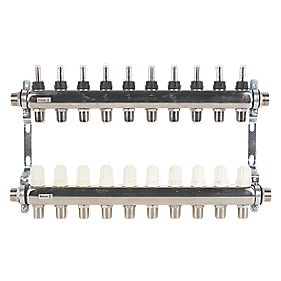 JG Speedfit 10 Port Manifold Set