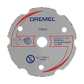 Dremel DSM500 Saw-Max Multipurpose Carbide Cutting Disc 55 x 5mm