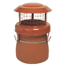 YBS Chimney Birdguard Aluminium & Stainless Steel 240 x 310mm