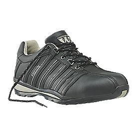Worksite Industrial Wear Safety Trainers Black Size 12
