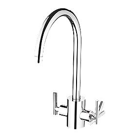 Bristan Artisan Pure Sink-Mounted Mono Mixer Kitchen Tap Chrome