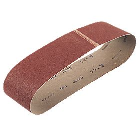 Cloth Sanding Belt Unpunched 150 x 1220mm 80 Grit