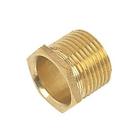 Male Brass Bush Long 20mm Pack of 10