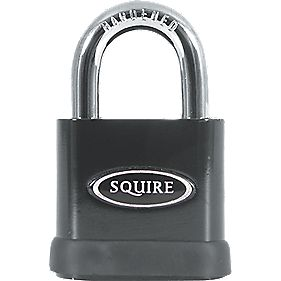 Squire Open Shackle Padlock 10mm dia. Shackle